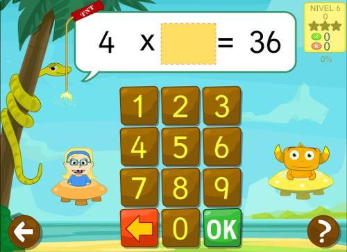 Juegos educativos para aprender las tablas de multiplicar y dividir #matemáticas…