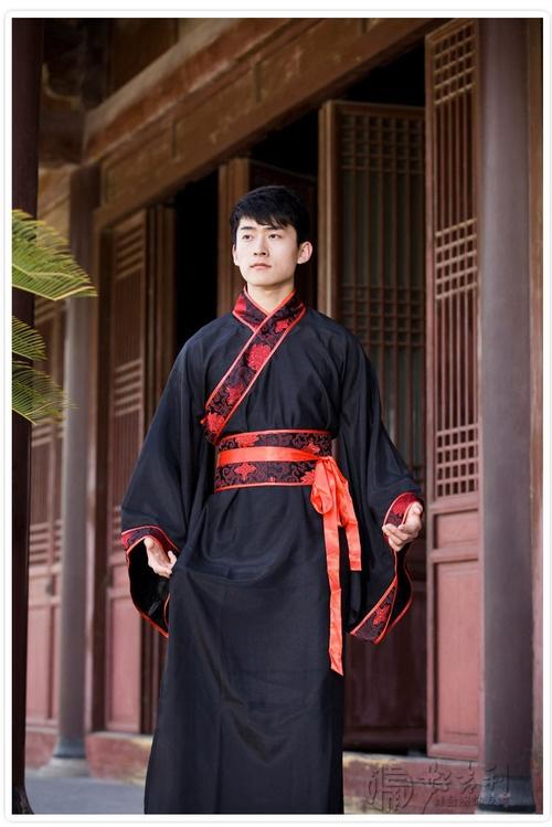 chinese male hanfu ethnic pinterest robes scorpion