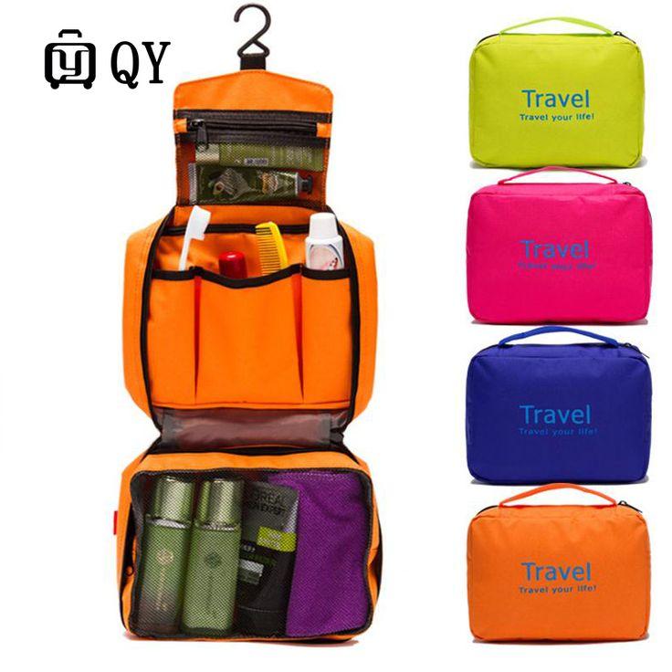 Las mujeres A Prueba de agua Bolsa de Cubos de Embalaje Cremallera Bolsa de Productos de Viaje de Los Hombres Bolsa de Lona Bolsas de Viaje Maleta