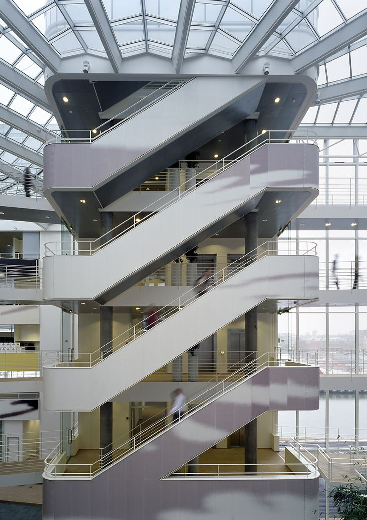 17 best stairs images on pinterest henning larsen for Architectural stairs