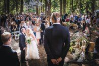 A whimsical forest wedding for Olympic freeskier Ashleigh McIvor and Vancouver Whitecaps' soccer team captain Jay DeMerit
