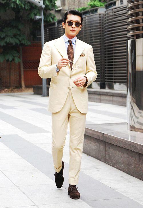 1000  ideas about Beige Suits on Pinterest | Khaki suits, Navy