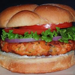 Salmon Rosemary Burgers | Recipe