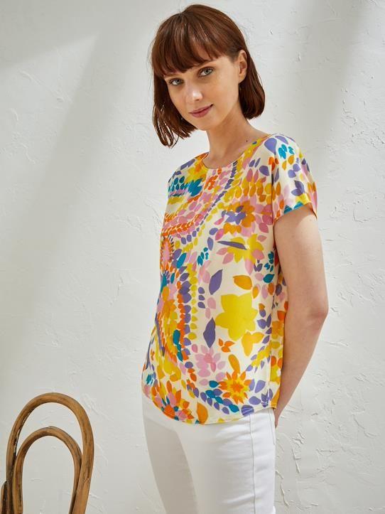 5ef2ff576d Printed women's top Pablo Piatti | Fashion & Clothing: 21st Century ...