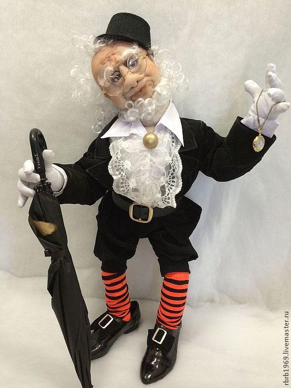 Купить Оле Лукойе (подставка для зонтиков и ключей)Продано! - оле лукойе, сказочный персонаж, интерьерная кукла