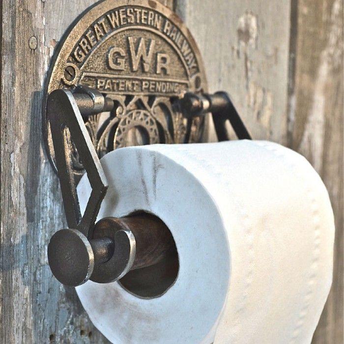 25 idee n die je leuk zult vinden over toiletrol houder op pinterest toiletpapier opslag - Rustieke wc ...