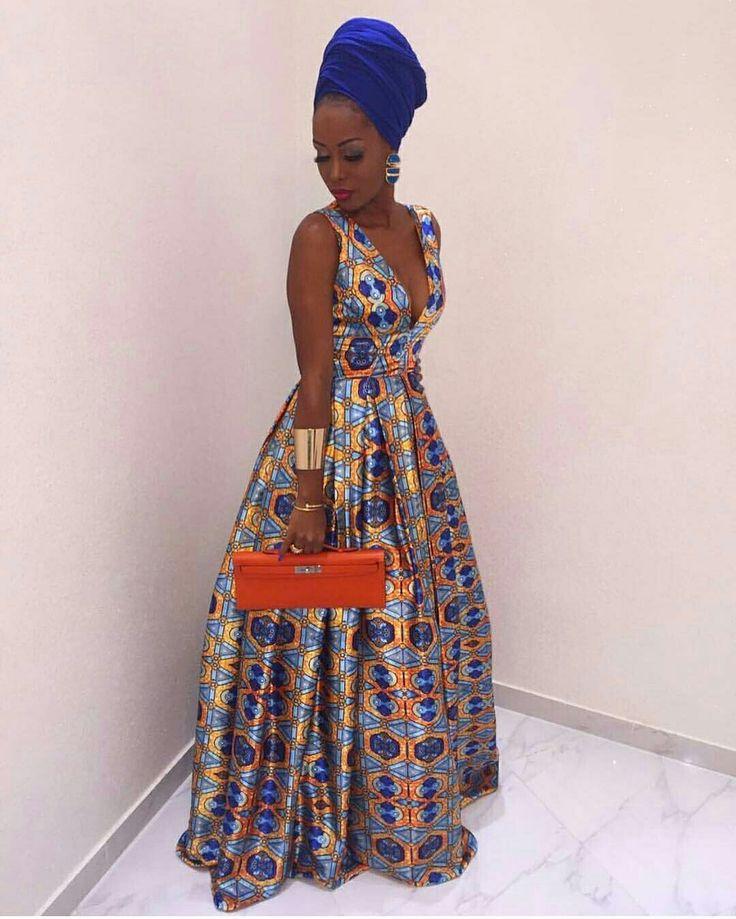 @Regrann from @stylemeafrica  -  African Queen  @helga.vieiradias #StyleMeAfrica #Regrann