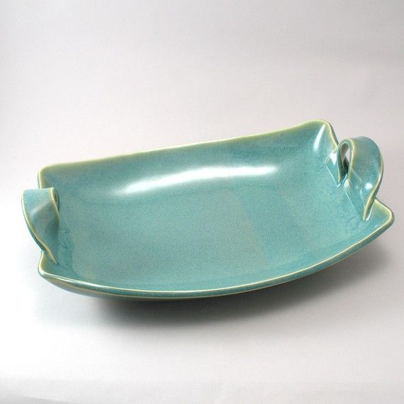 Ceramic Serving Dish  Handmade Tableware  Pottery  by cherylwolff