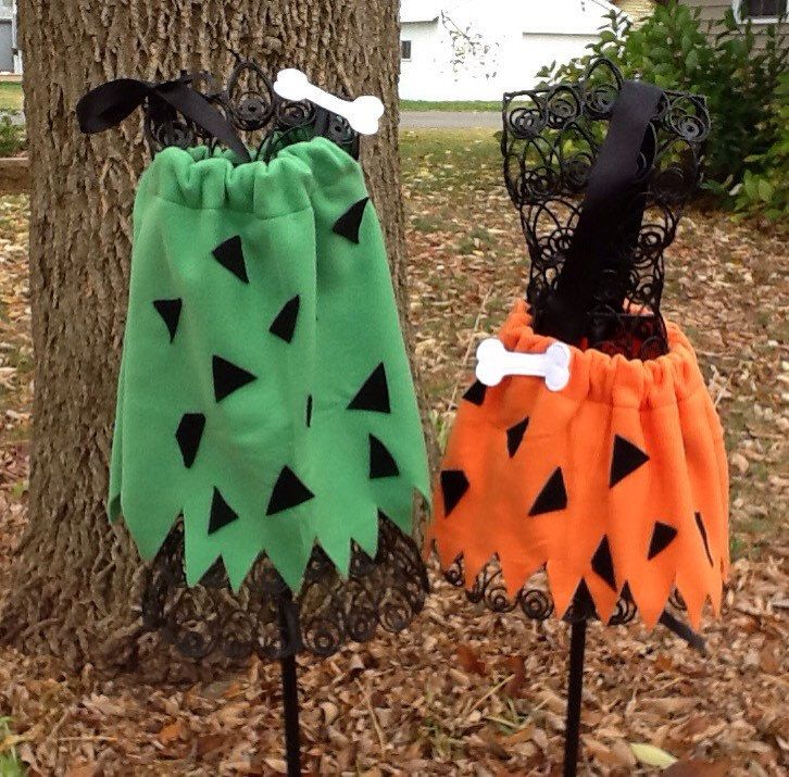 Pebbles and Bam Bam Costumes custom listing by FancypantsDesignz