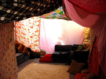 I Will Never Outgrow Blanket Forts
