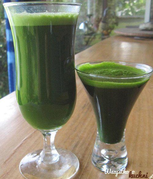 Przepis+na+zielony+koktajl+odchudzający...
