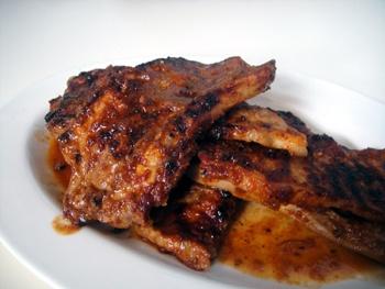 Σάλτσα μπάρμπεκιου για χοιρινές πανσέτες.  Θα το δοκιμάσω σήμερα το μεσημέρι...