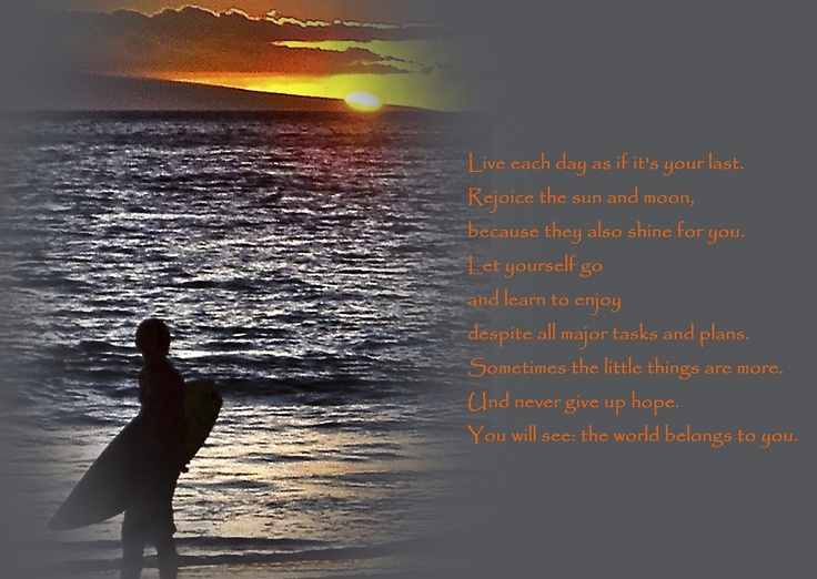 Postcard (Surfer Hawaii) - Quote: Jando