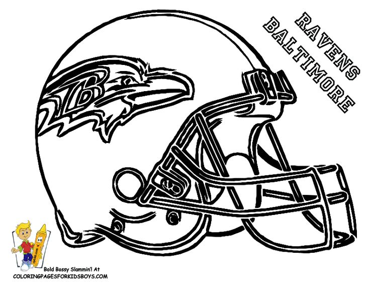25 best NFL coloring pages images on Pinterest Football coloring