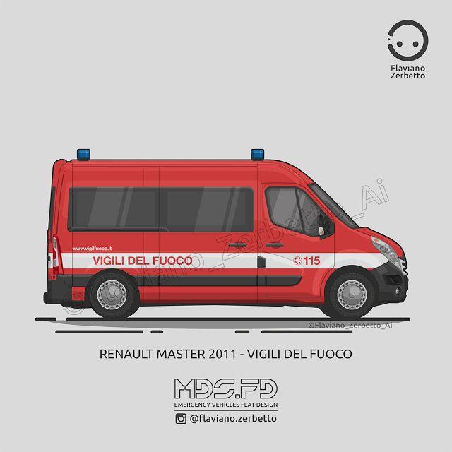 KombiT1: Renault Master 2011 - Vigili del Fuoco