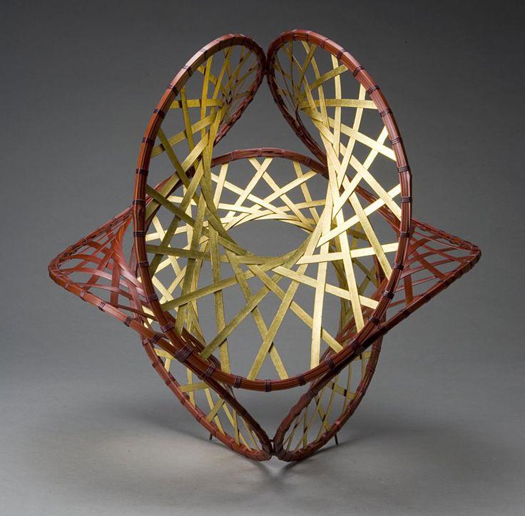 Woven Basket Art : Best inside out braid ideas on