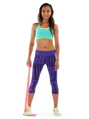 Sculpt Sexy Arms: The Resistance Band Workout- for the 6 postpartum weeks before returning to the gym!