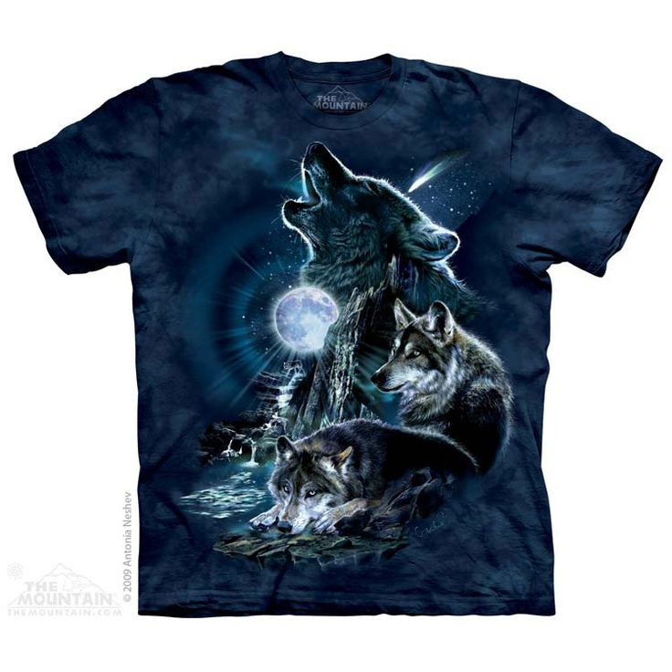 Bark at the Moon T-Shirt $22.00 Use code: NWC15 for 15% off. The Mountain T-shirts.