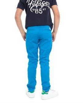 Pantalón Tommy Hilfiger Hudson Azul. Perfecto para vuestros hijos. Con estilo y personalidad. #pantalón #moda #niño