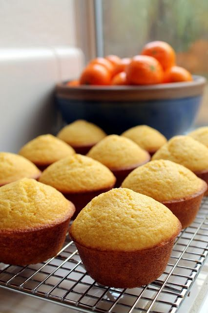 Easy Buttermilk Corn Bread Muffins