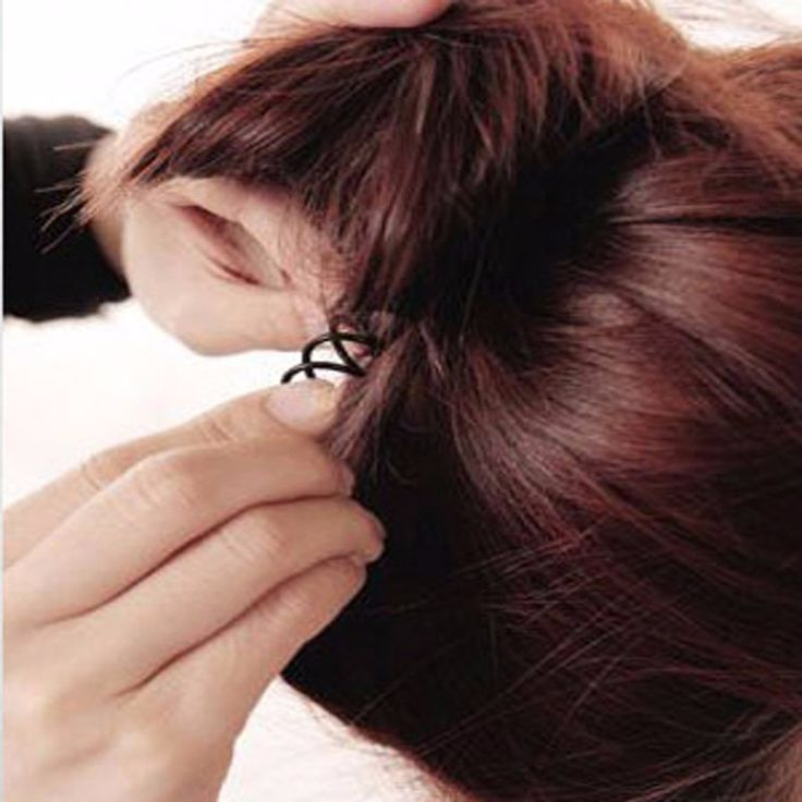 3pcsInvisible Hair Wholesale Spiral Spin Screw Hair Clip Twist Barrette Black New Hairpins Hair Band Accessories Hairstyle Tools