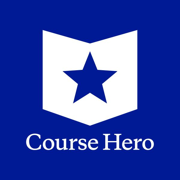 Course Hero is where you can find the best study resources, ask tutors for personalized homework help, and share your own study resources to help others learn too.