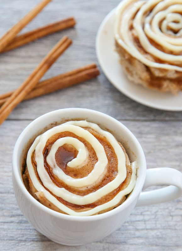 This single serving microwave cinnamon roll mug cake has cinnamon swirls mixedthroughout a fluffy cinnamon flavored cake. It's cinnamon roll meets cake in an easy mug cake form. I'm pretty excited with how this mug cake turned out. It may be my new favorite. I especially love how the cinnamon swirls separate pieces of cake, …