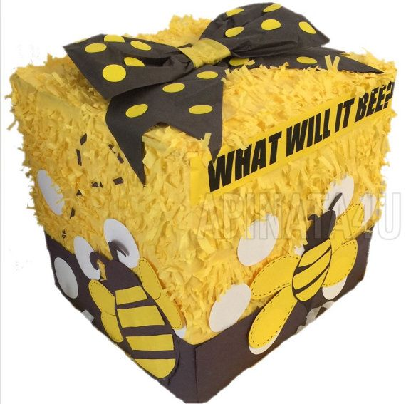 What will it bee Gender Reveal Pinata Pull by Theperfectpinata