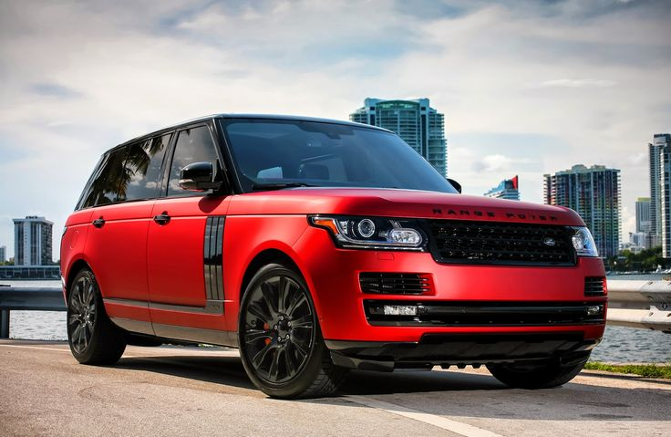 Customized Range Rover LWB Supercharged with a complete