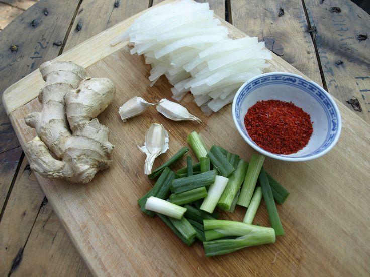 Kimchi #vegankorean #veganlife #whatveganseat #veganrecipes #Kimchi