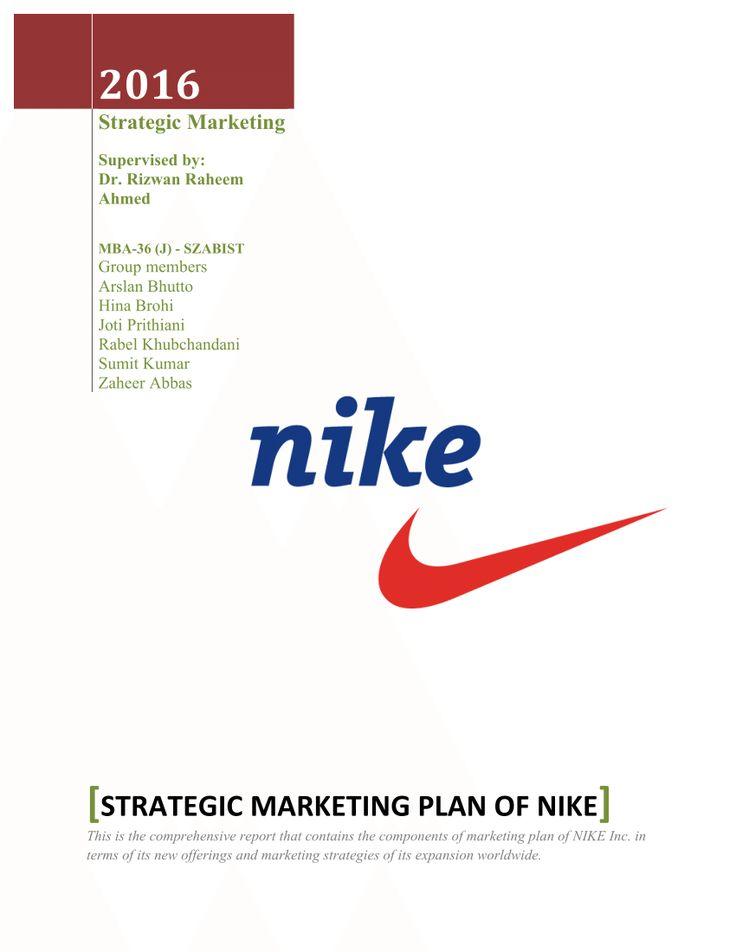 The 25+ best Nike marketing ideas on Pinterest Melhor cinto de - marketing plan pdf