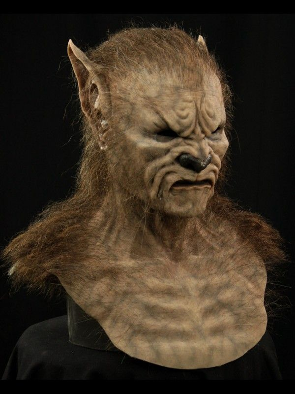 Lupus the Wolfman Silicone Mask | Silicone Mask | Silicone masks, Face, Werewolf