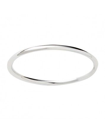 Pink Lou Lou Silver Fine Stacking Ring