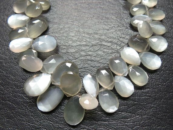Classy Gorgeous Natural Siloni Moonstone Super by StarGemBeads