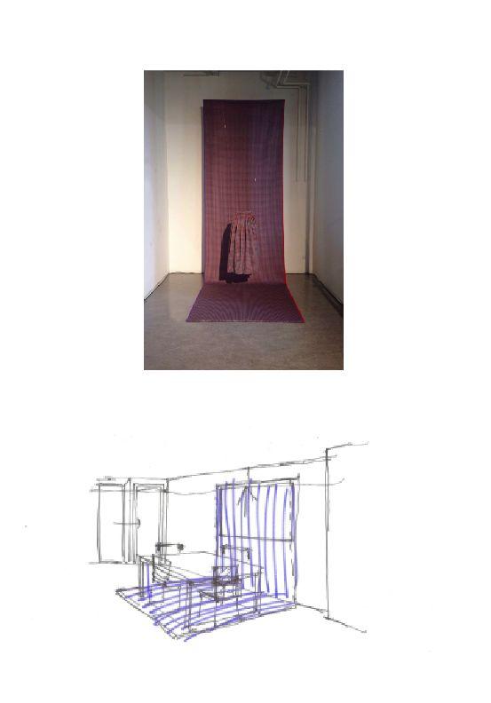 Inspiratie Eindhoven DDW14 | als idee voor het interieur, tapijt wat doorloopt op de muur | by WitInStijl