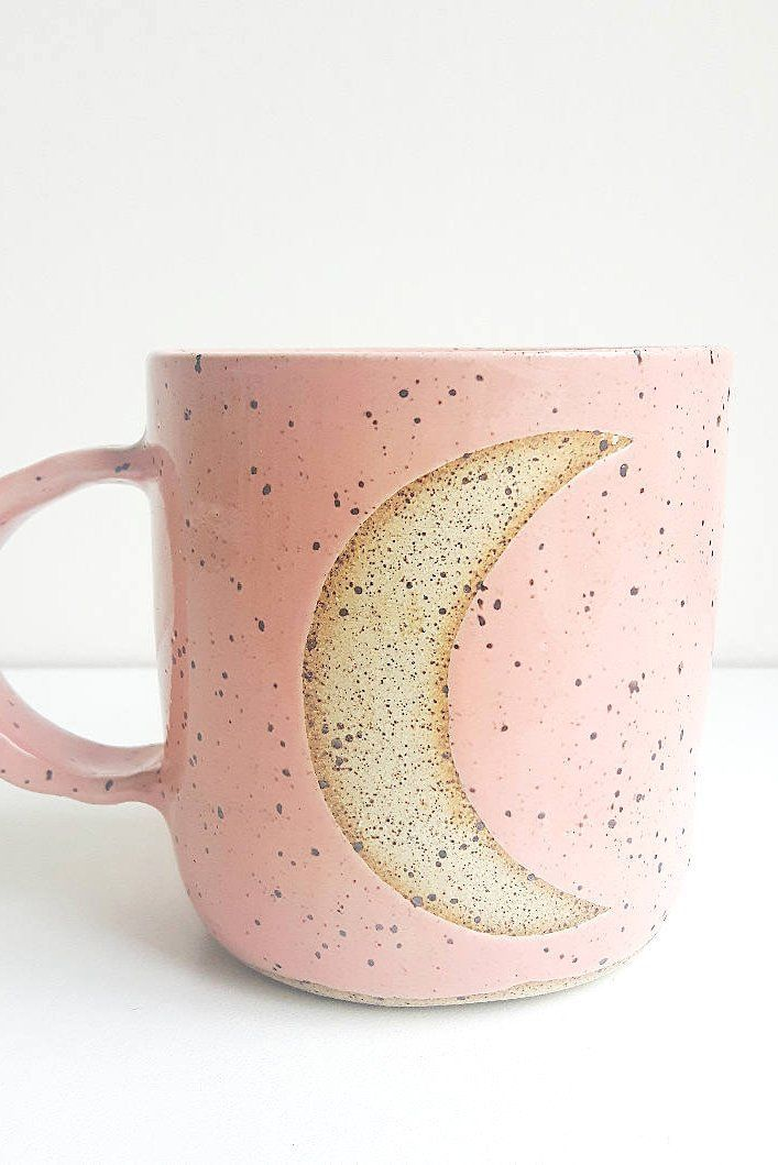 The moon in your hand and coffee in your cup