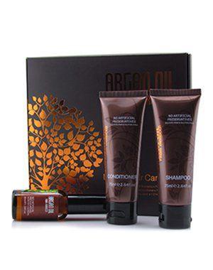 Дорожный набор для волос (шампунь 75мл, кондиционер 75мл, масло арганы 30мл), Argan Oil from Morocco купить от 1099 руб в Созвездии красоты