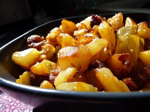 Pommes de terre sautées & chorizo1