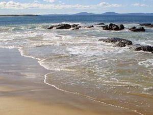 Camper van Hire Tasmania East Coast Beach