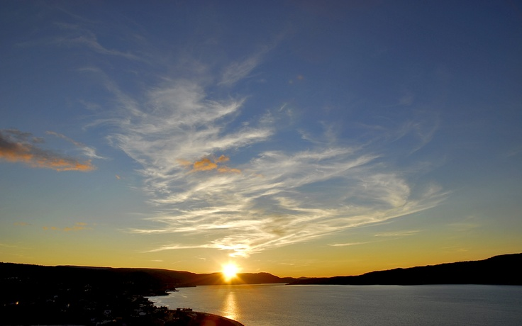 Sunset on the Bays of Islands,Corner Brook