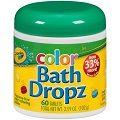 CRAYOLA - Play Visions Color Bath Dropz 3.59 oz - 60 Tablets - VitaminGrocer.com.au