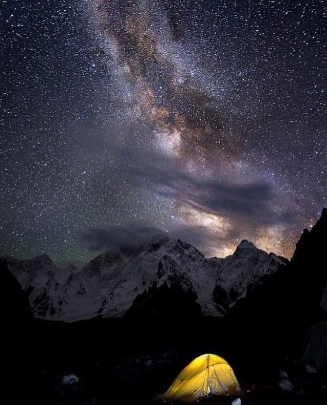 encounter-south-asia:  Masherbrum mountain range, Gilgit Baltistan, Pakistan.  At 7,821 metres it is the 22nd highest mountain in the world and the 9th highest in Pakistan. It was the first mapped peak in the Karakoram mountain range, hence its name.  https://instagram.com/p/BDjKO_wosF2/