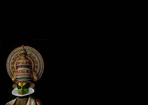 Kathakali dancer in traditional costume, Kochi - India by Eric Lafforgue, via Flickr