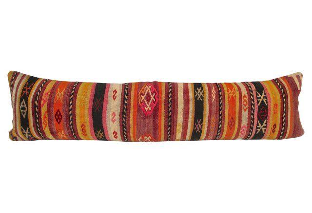 Turkish Kilim Extra Long Pillow