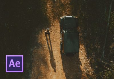 How to Add a Zoom to Your Drone Video in Adobe After Effects by Charles Yeager