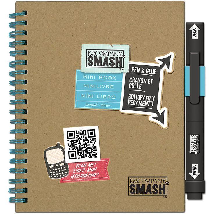 3 D Mini Smash-boek met Pen en lijm 30672086 | Fruugo