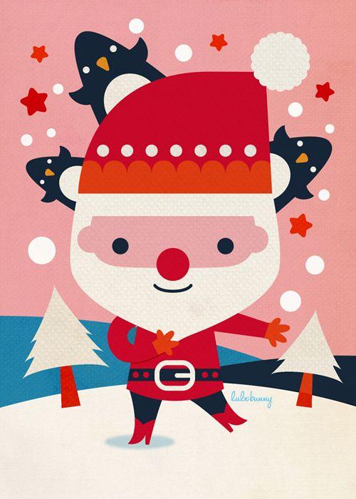 Christmas Designs : Luli Bunny