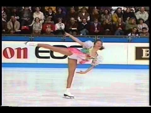 Tanja Szewczenko & Katarina Witt (GER) - 1994 Europeans, Ladies' Technic...