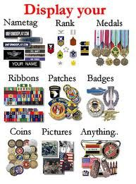how to position air force medals in a shadow box - Google Search