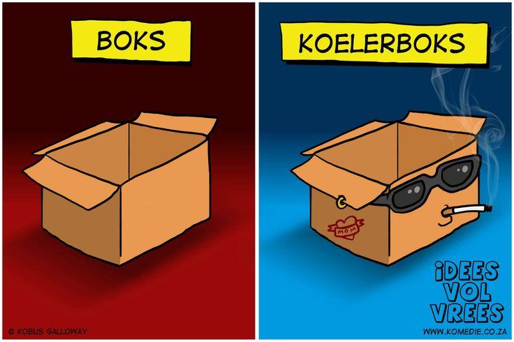 idees vol vrees - Koeler-boks